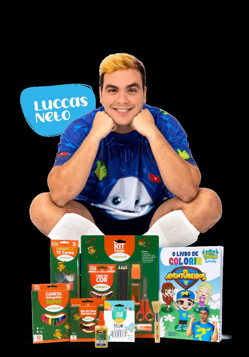 Luccas Neto - Kit escolar