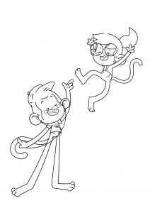 Leo e a Leo nas alturas